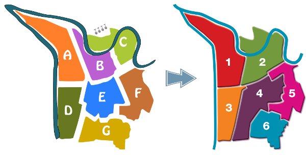 Evolution des périmètres des CCI